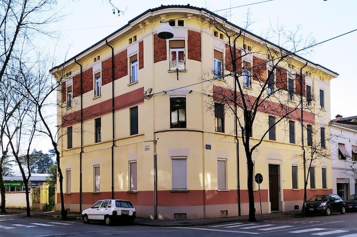 Piano nobile di Palazzo Vidmar in centro a Gorizia