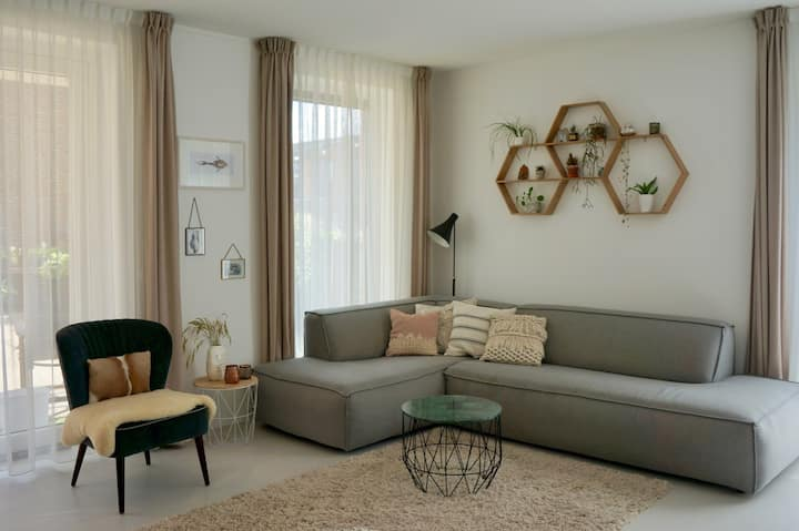 Luxury and spacious apartment with 54m2 terrace