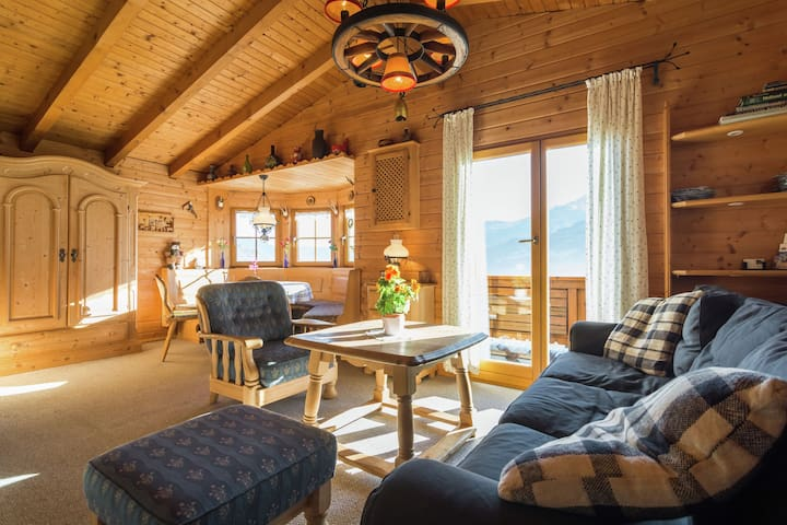 Charming Wooden Chalet in Walchen with Balcony