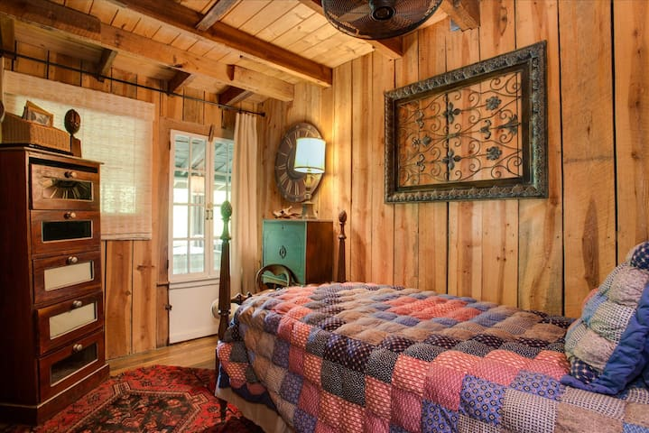 Elk Room - Connects to screened sleeping porch w/ 2 Double Beds