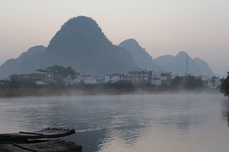 Yangshuo River Bank(King Room Bed) - Bed & Breakfast