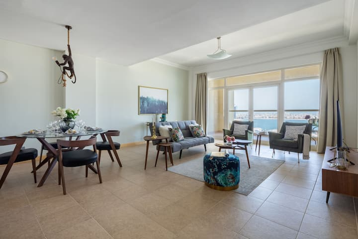 Sleek And Elegant 1BR on The Palm!