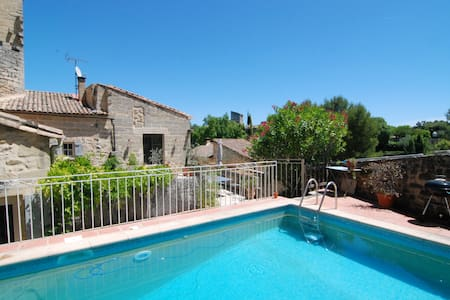 St Siffret, studio with private pool and terrace