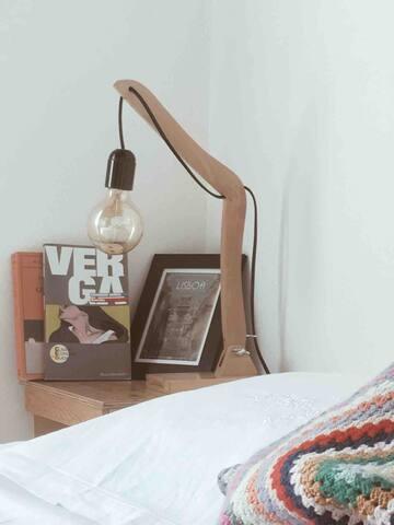 Camera Verga, Verga's Room, Dormitorio Verga