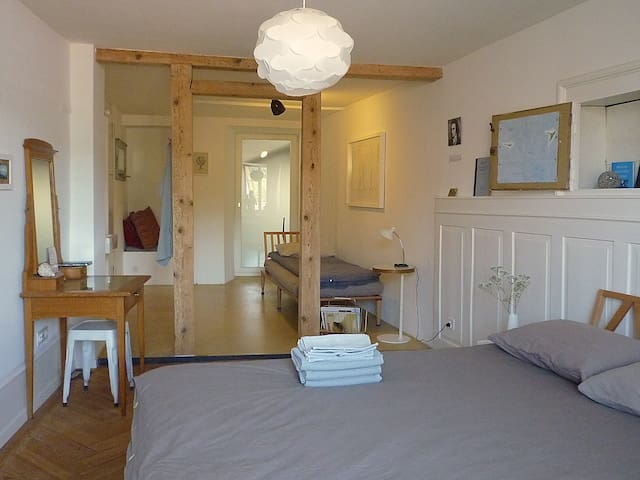Beautiful room in Aarau for 1-4 pax
