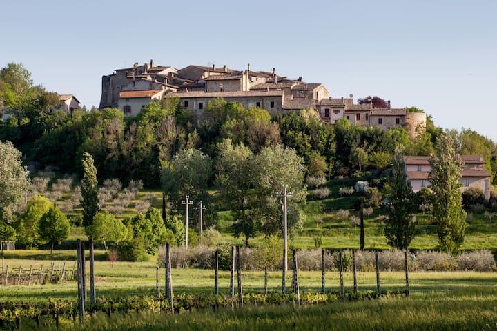 Torre Medieval en el Corazón Verde de Italia