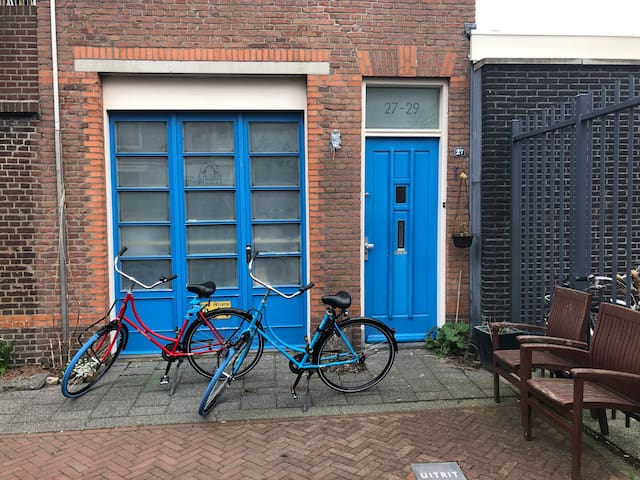 Apartment The Blue Door (two Dutch bikes included)