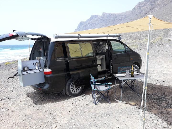 Lanzarote campervan - Krakinkampa