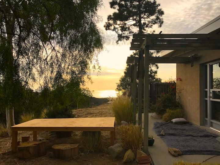 Serene writer's retreat cottage