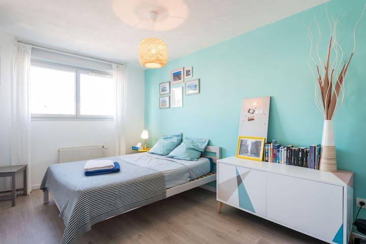 Belle chambre dans duplex proche centre ville