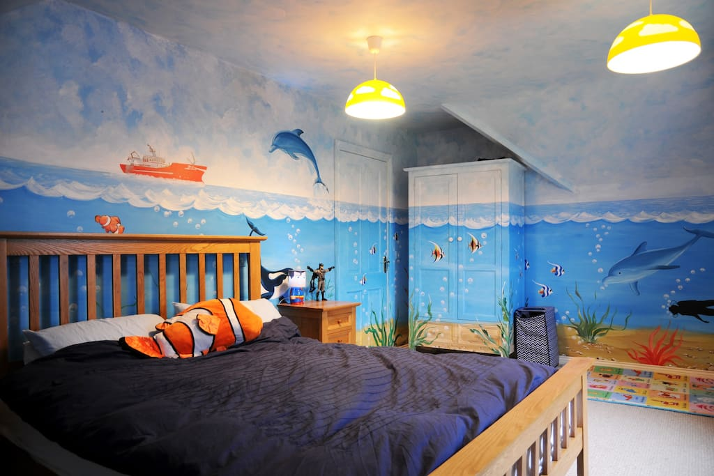 The under the sea room
