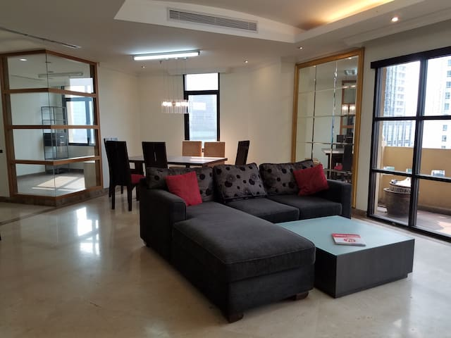 Big & Quite 3 BR Apt with Pool in Downtown Jakarta