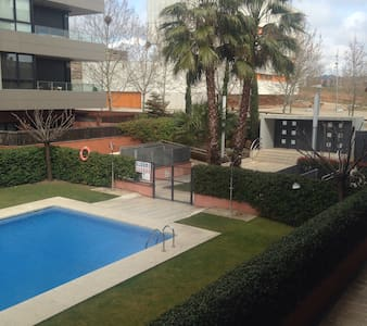 Precioso apartamento con piscina - Sant Cugat del Vallès - Apartment