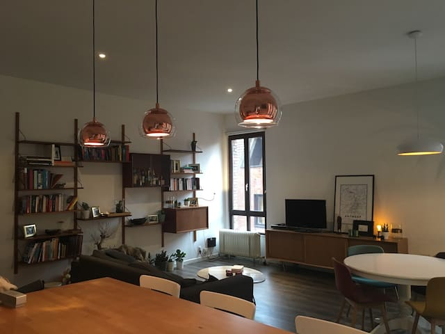 Specious appt in the city center - Antwerpen - Wohnung