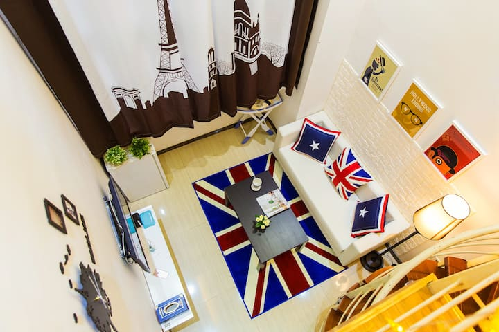 The British Easy apartment, travel - Guangzhou - Byt
