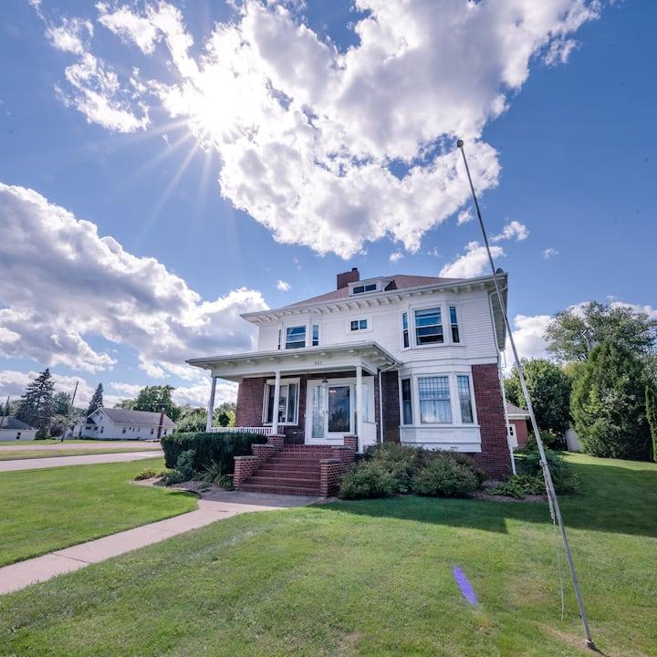 Historic Home overlooking Lake Huron