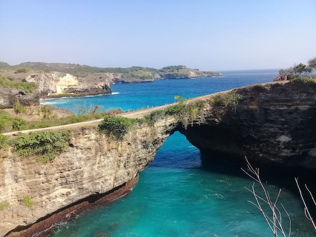 Broken beach...one of intresting place at nusa penida.bali