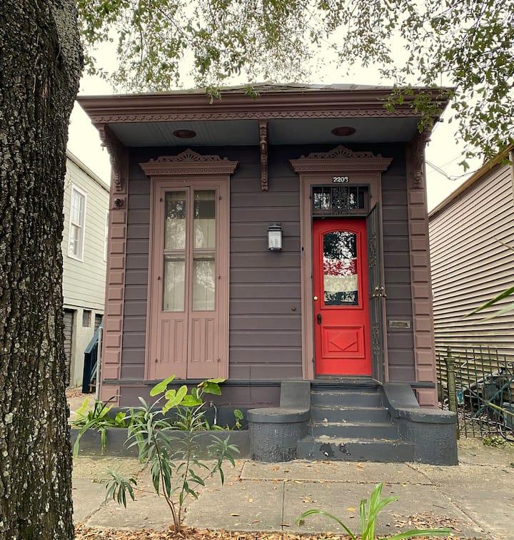 Historic New Orleans Shotgun House