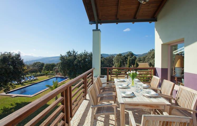 Impressive Views from el Cortijo de Ronda - Arriate - Villa
