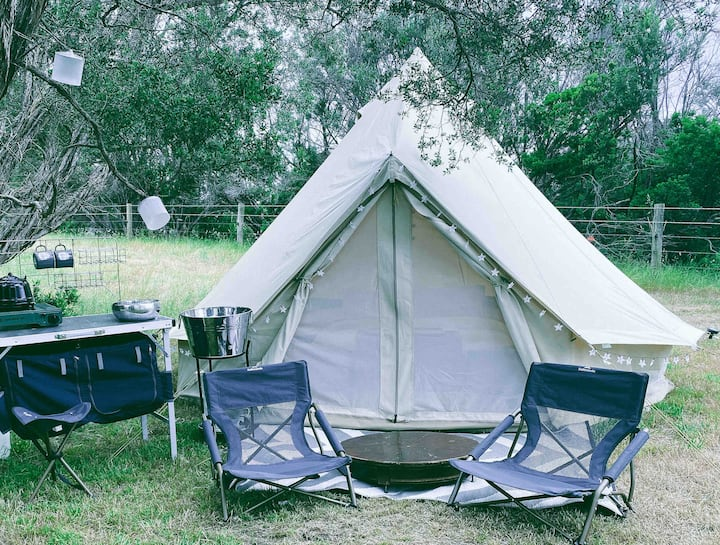 PENINSULA GLAMPING - 4M LUXE BELLE TENT