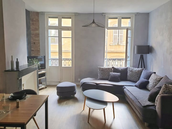 DESIGN APARTMENT IN THE HEART OF THE CITY CENTER