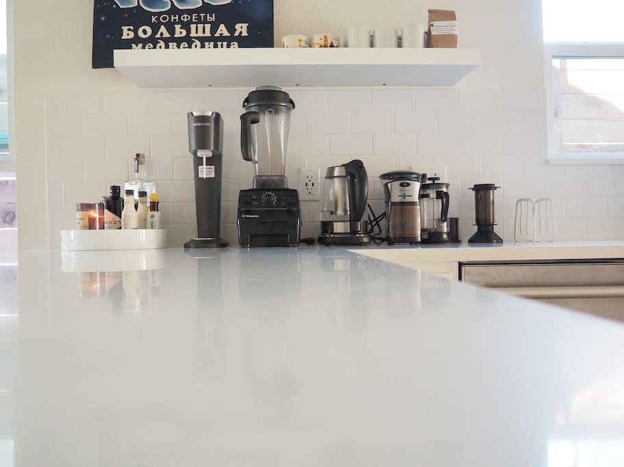 Coffee and Beverage Bar