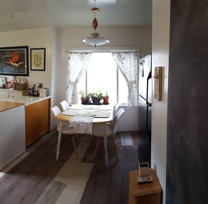 Dining area/Chalkboard wall/Gallery