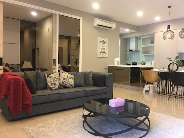Nicely Decorated & Fully Equipped Apartment @ PJ