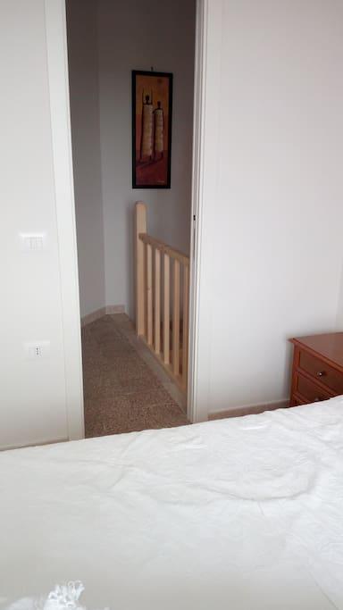 corridoio camera da letto