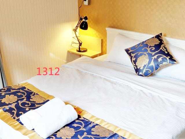 1double bed suite with bathroom room 1312