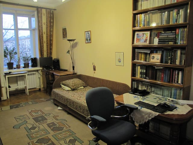 A room at a central island of Saint-Petersburg