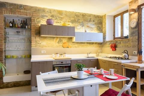 Giove's cosy home in Montalcino