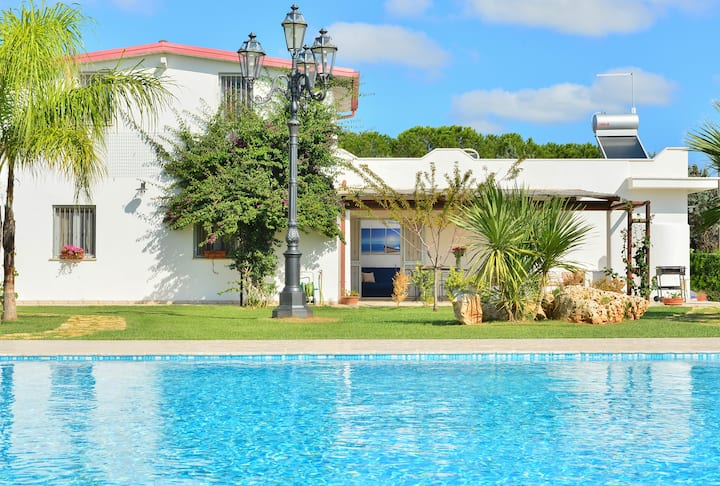 Villa Blu with pool - Last minute Low season
