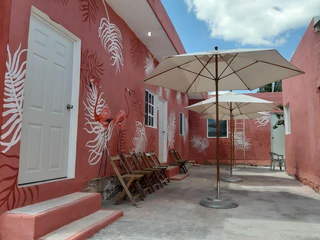 """Habitaciones """"Chiquil Ha"""" #4. excelente ubicación"""