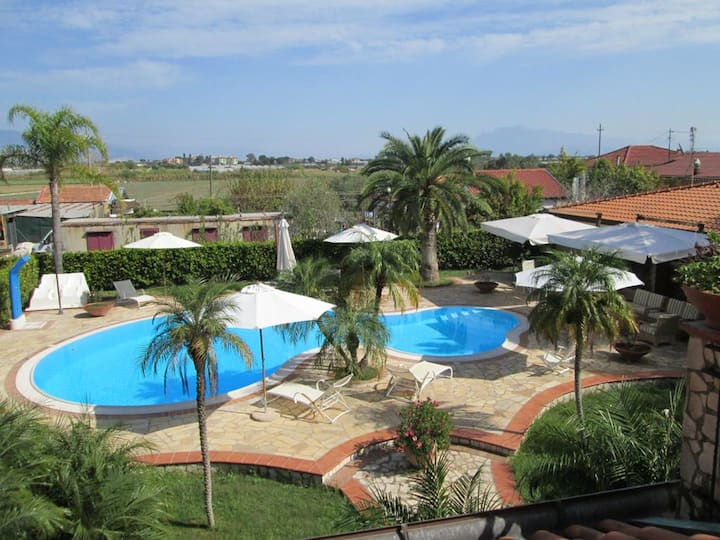 Apartment with 3 bedrooms in Lago, with shared pool and WiFi - 450 m from the beach