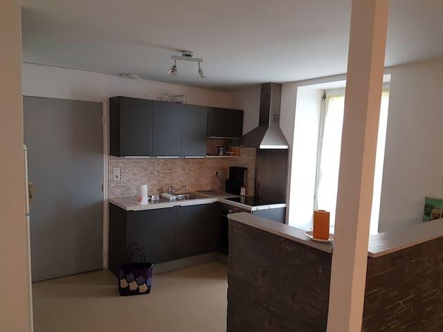 Bel appartement plage et chemins côtiers à 100 m - Préfailles - Apartment