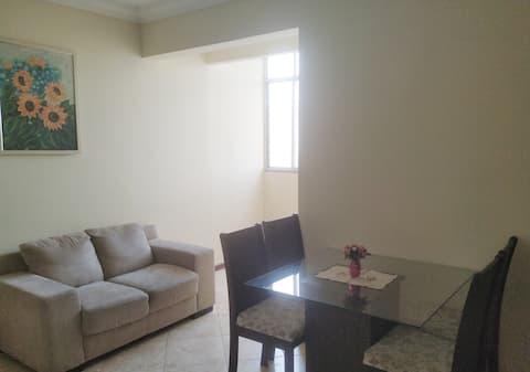 Apartamento na Av. Dom João VI em Brotas.