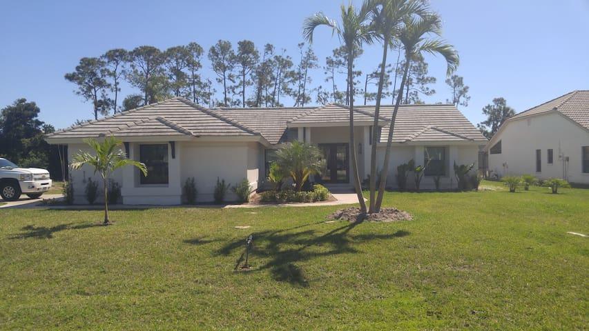 Newly renovated Florida home.