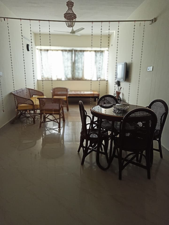 Aesthetically pleasing furnished 2BHK apartment