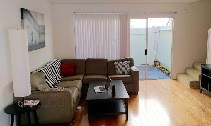 private room in a spacious duplex in West LA