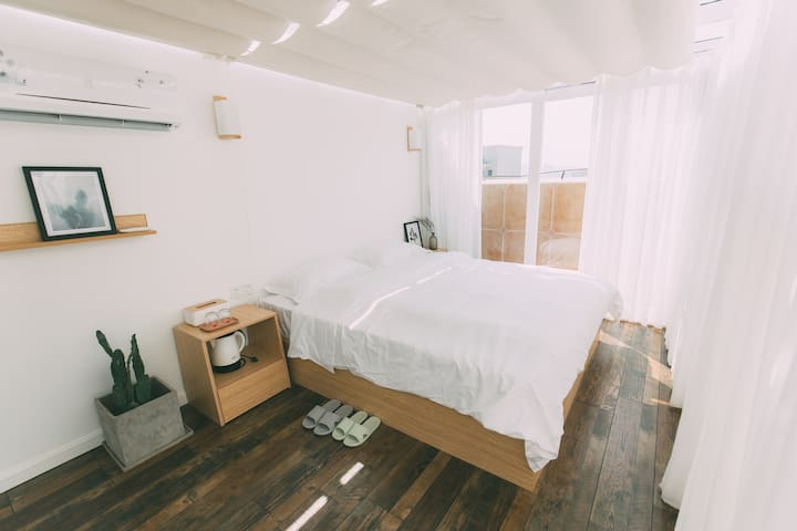 凳子民宿•Room12 北欧极简主义 茂名首家文艺民宿