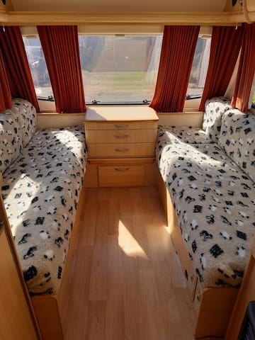 Dog Friendly Caravan Abbey Aventura