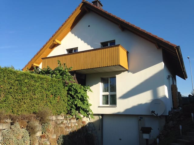 Friendly  Apartment near the Alps - Wichtrach - Huis