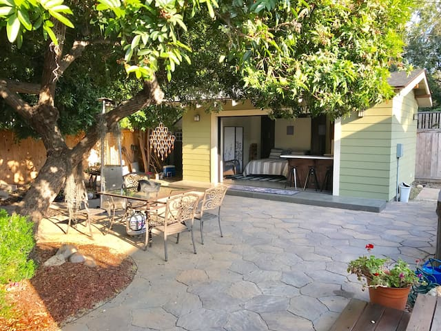 NP Guest quarters in our Private Backyard