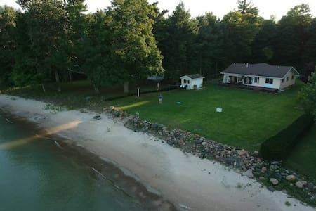 Gorgeous Lake front home on Lake Huron