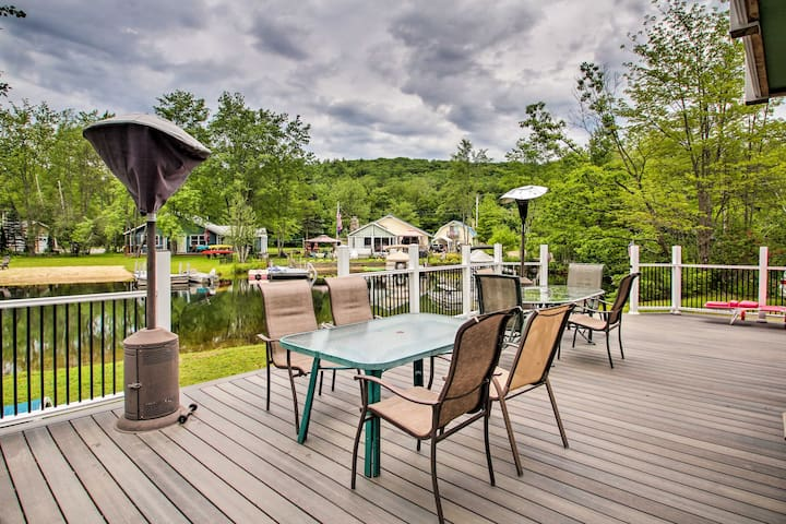 NEW! Waterfront Ashland Home by Little Squam Lake!