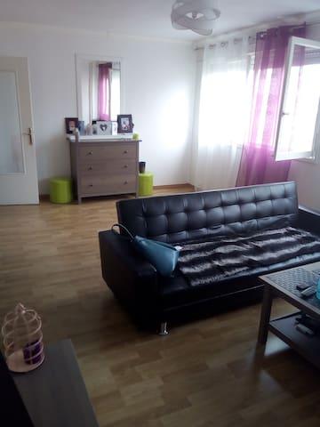 Loue appartement 47m², proche de toutes commodités - Metz - Lägenhet