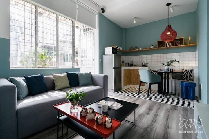 Beautiful Corner Style Studio@Perfect for COUPLES!