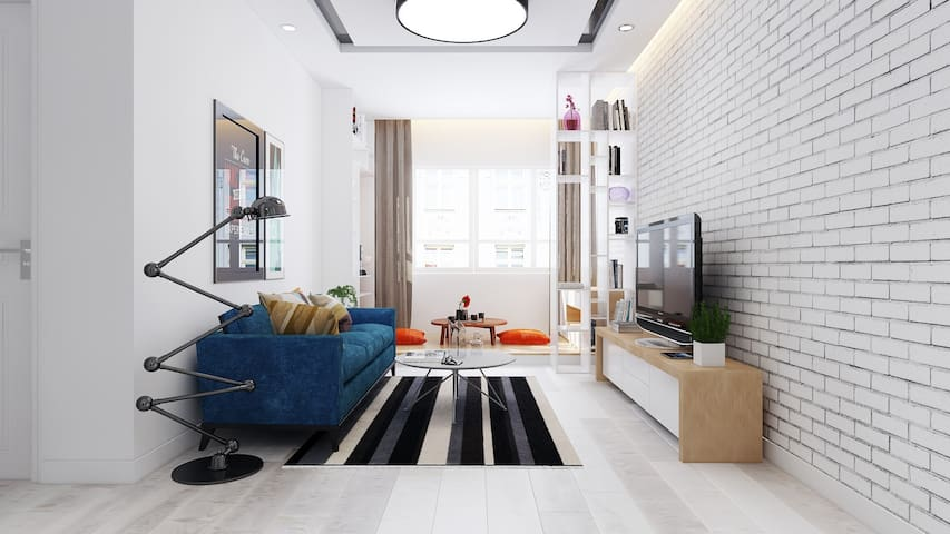100 sm apartment at the heart of Danang, Vietnam - Da Nang - Wohnung