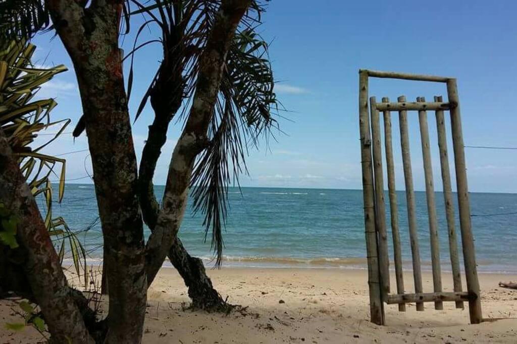 praia vista para o Mar
